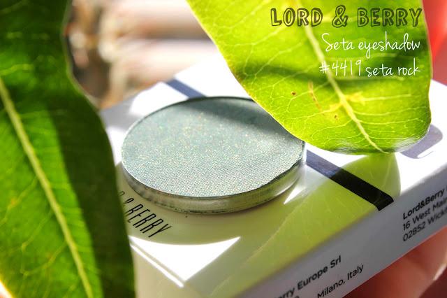 Отзыв: Сатиновые тени для век – Lord & Berry Seta Eye Shadow Refill.
