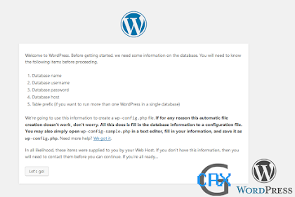 Wordpress: Cara Install Wordpress Di Localhost