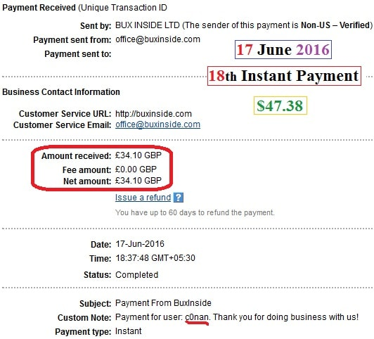 Earn $50 Per Day, Free To Join Instant PayPal Money Adder  | Make