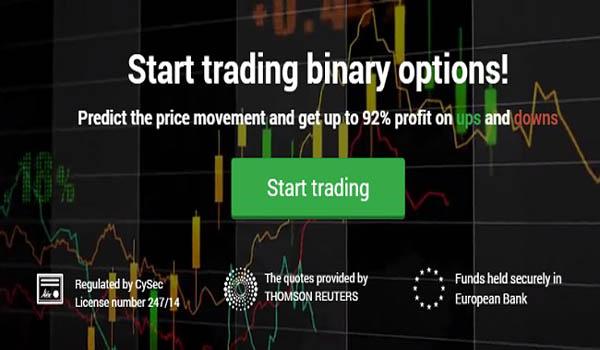 profil broker lion binary options