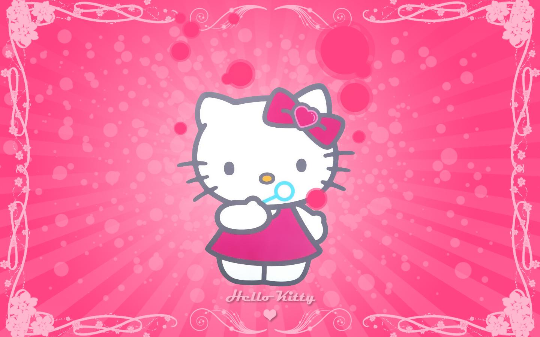 Amazing Wallpaper Hello Kitty Pink - 090702230525_11  Graphic_98135.jpg