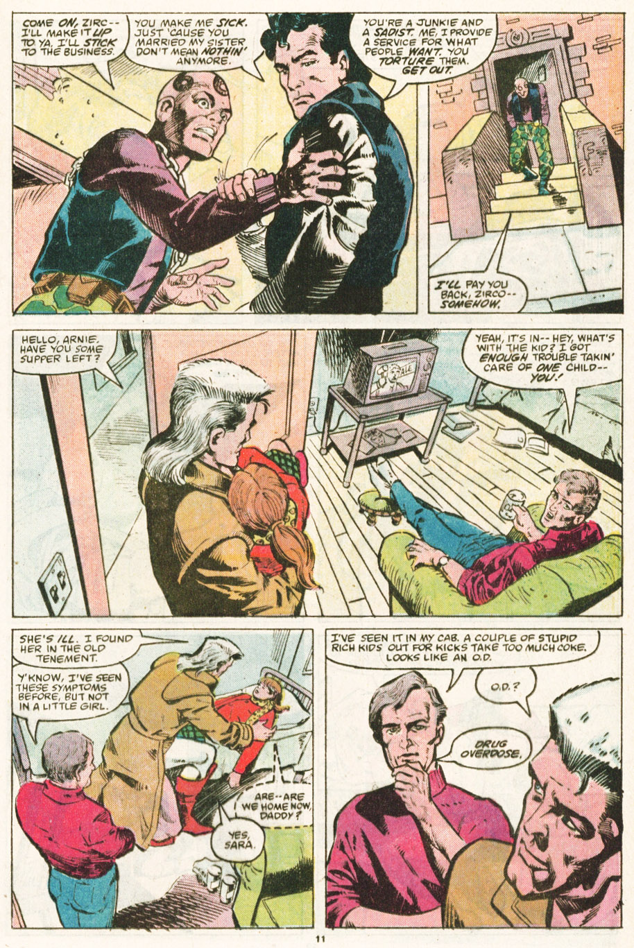 Read online Justice (1986) comic -  Issue #6 - 12