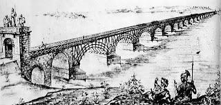 Reconstrucción del puente de trajano