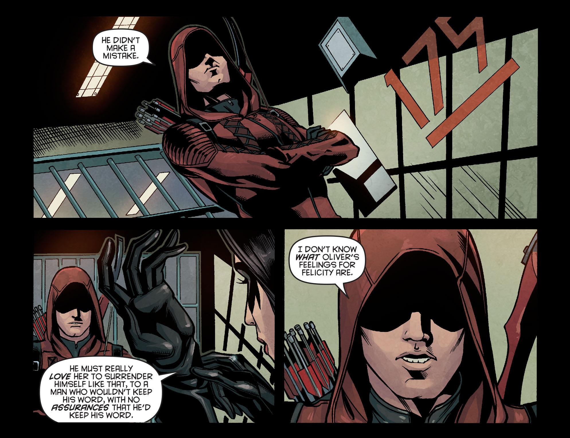 Read online Arrow: Season 2.5 [I] comic -  Issue #14 - 17