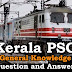 Kerala PSC General Knowledge Question and Answers - 86