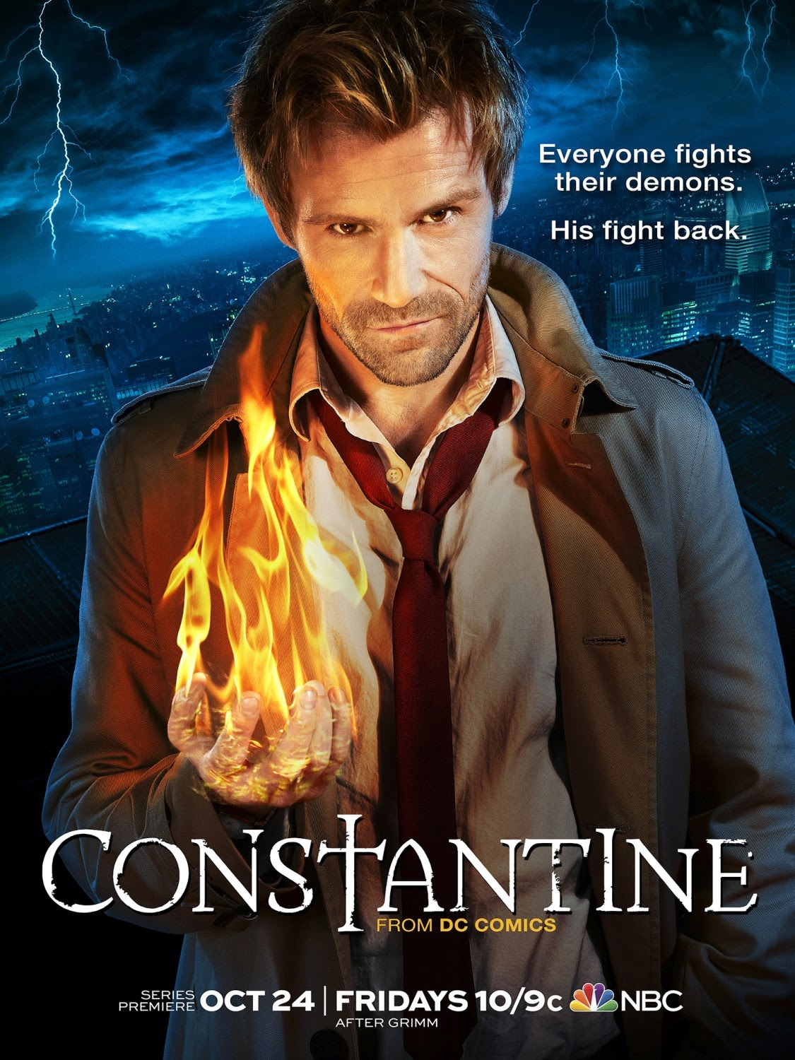 Constantine Final One Sheet Television Poster