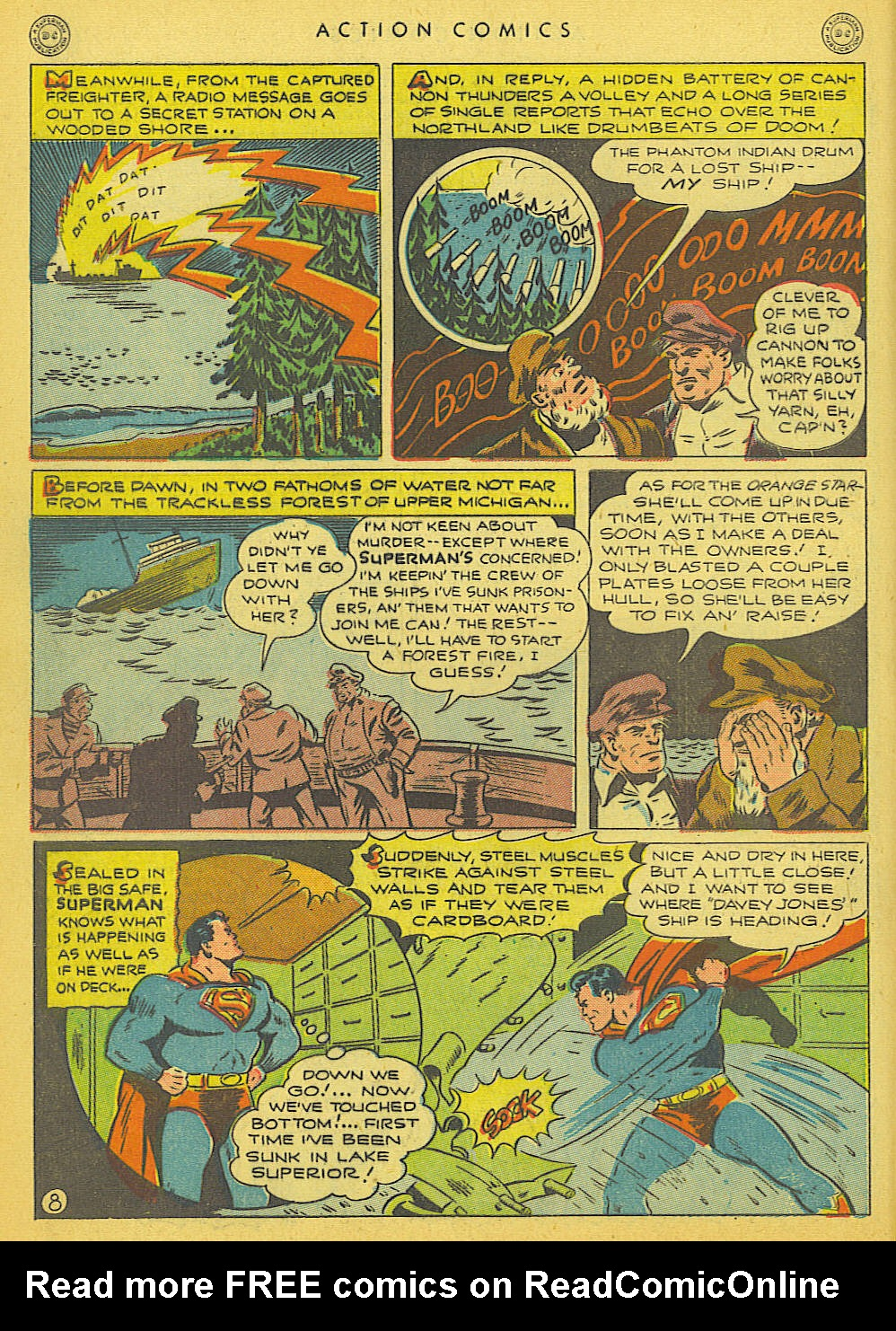 Read online Action Comics (1938) comic -  Issue #91 - 10