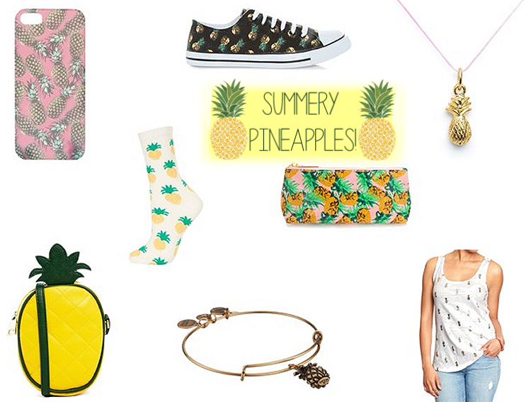 Fashionable Heart | Print Lovin': Pineapples