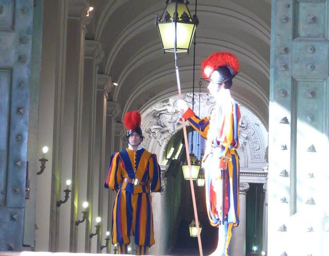 Straż watykańska, Rzym
