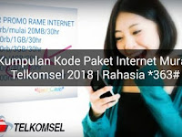 Promo Paket Internet Murah Simpati 2018