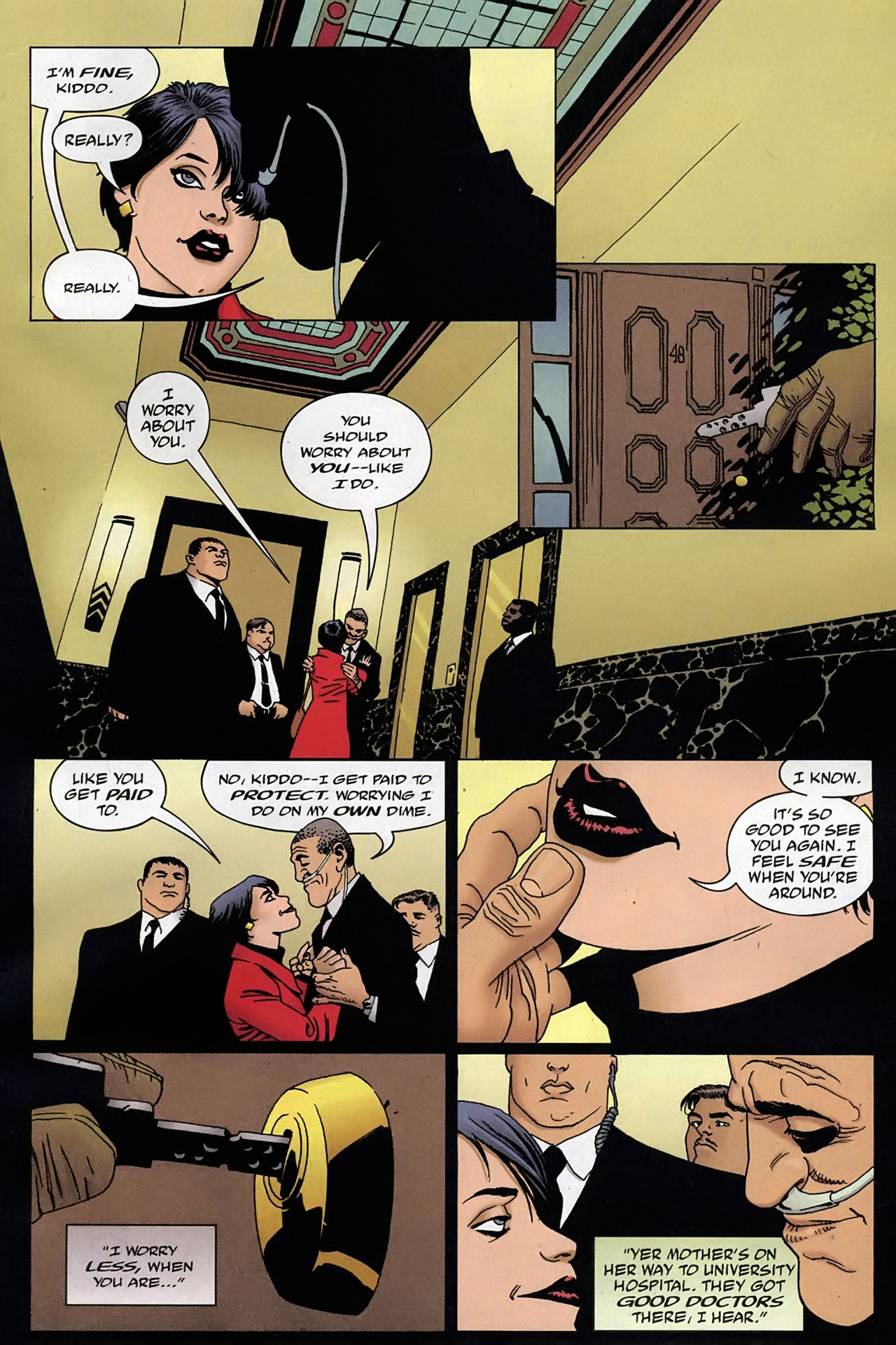 Read online 100 Bullets comic -  Issue #93 - 11