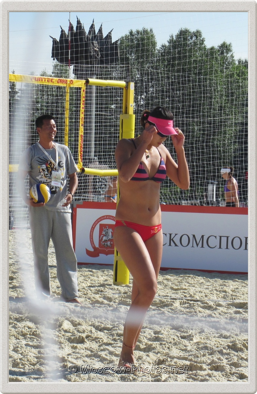 Beach Volleyball Chen Xue in Moscow