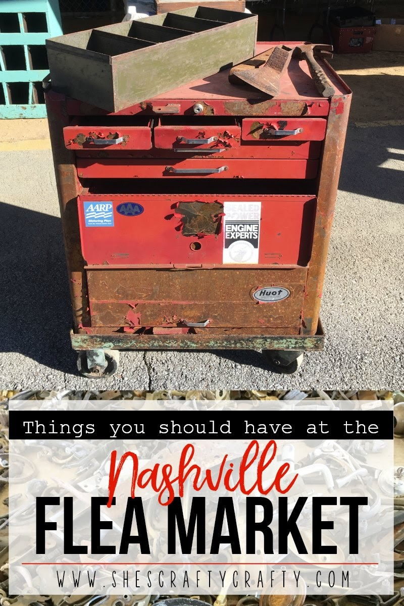 Things you should have with you at the Nashville Flea Market