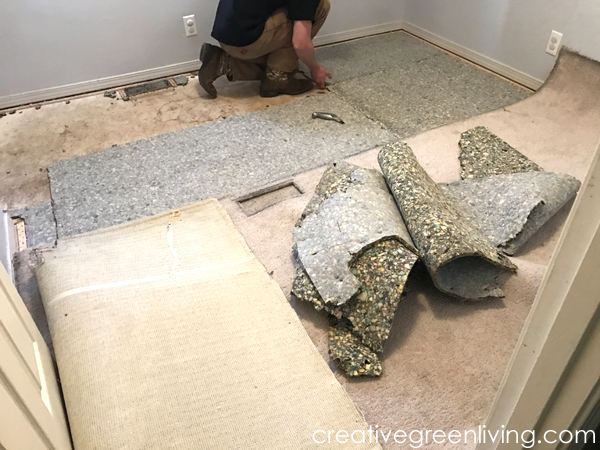 Easy to install carpet