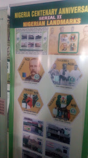 Nigeria Centenary Anniversary Land marks stamps
