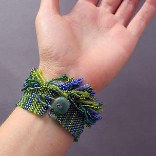 браслеты handmade купить оригинальный женский браслет зеленый синий ру