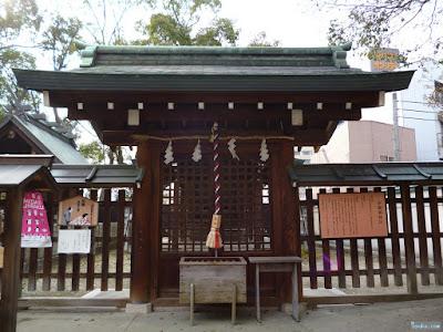 生國魂神社浄瑠璃神社