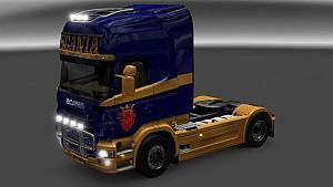 Scania Vabis paint job for Scania R SCS