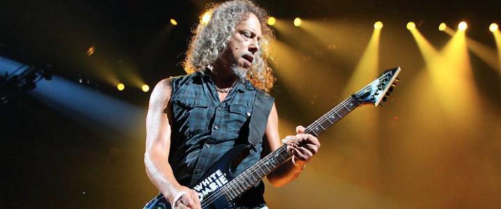 Kirk Hammet de Metallica recuerda cómo comenzó su colección de música