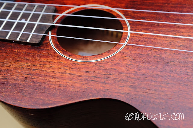 Gretsch G9110 Ukulele sound hole