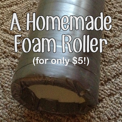 Homemade Foam Roller
