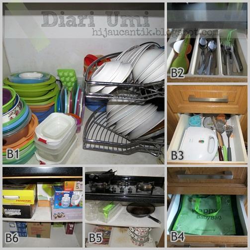 Aku Memang Begini Diari Umi Cara Menyimpan Peralatan Masak Di Dapur