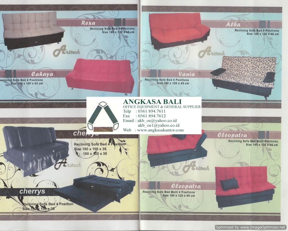 jual sofa bed murah di jakarta selatan natural latex angkasa meja kantor kursi alat