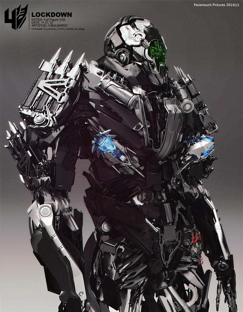 腰部掛有博派金剛的眼睛,並且與人類組織狼狽為奸,同樣有個怪怪的中文名—地獄獵人,不過,是地獄獵人的戰利品。