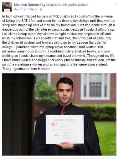 2 - Harvard University Computer Science graduate shares his inspiring & emotional success story