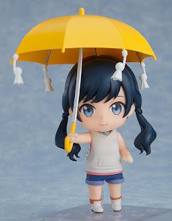 """Figuras: Imágenes del nendoroid de Hina Amano de la película """"Weathering with You"""" de Makoto Shinkai"""