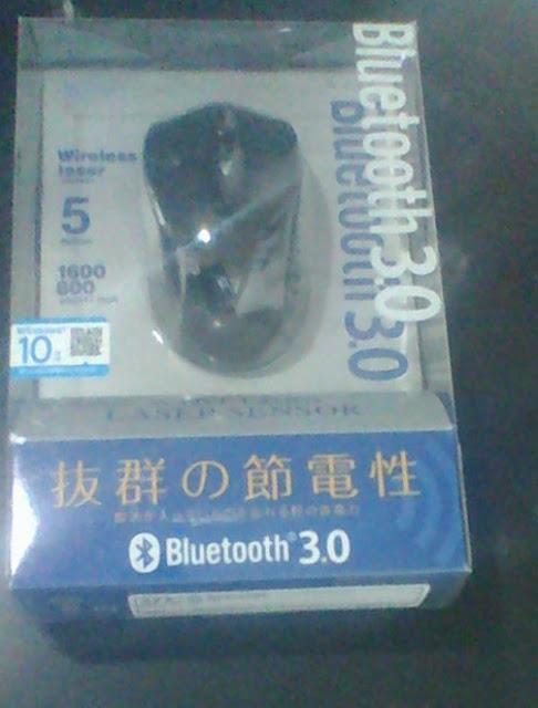 サンワサプライ Bluetoothレーザーマウス MA-BTLS23 BKを購入しました。このBluetoothマウスをLinuxをインストールしたノートパソコンで使用します