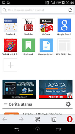 Download opera mini v7 apk | Opera Mini Handler APK Download