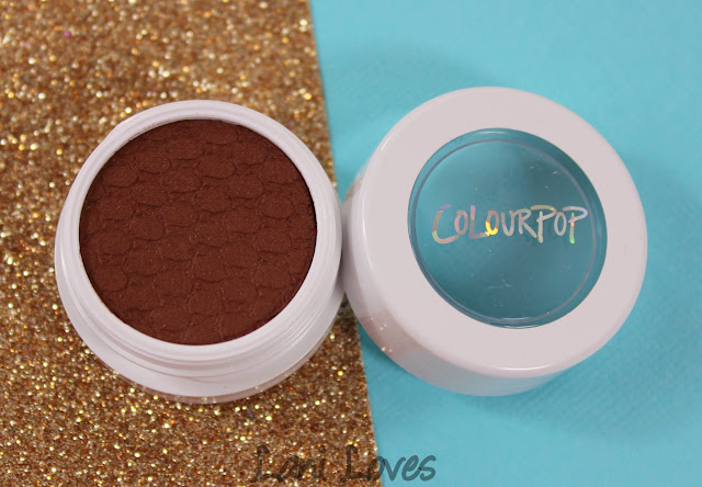 ColourPop Super Shock Shadow - Bandit Swatches & Review
