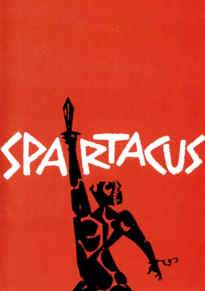 Spartacus poster by Saul Bass