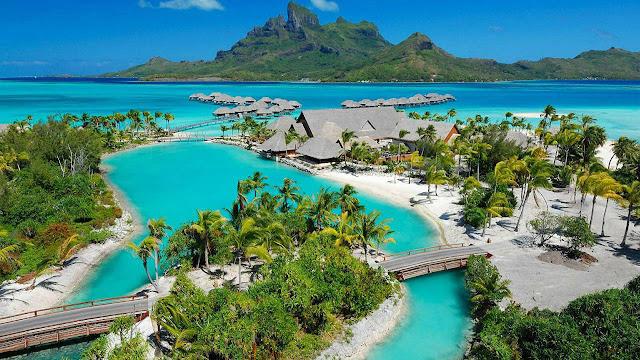 Bora Bora, Polinezja Francuska