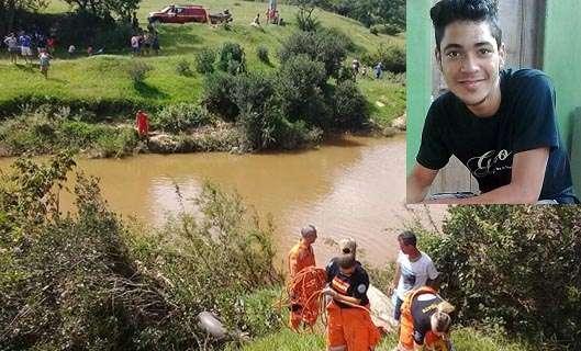 Tragédia! Jovem evangélico de 20 anos morre afogado, minutos após se batizar em rio
