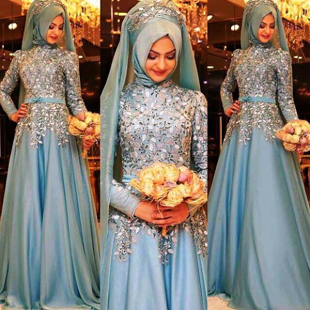 Inspirasi Gaun Muslimah Cantik dan Trendy 2001623