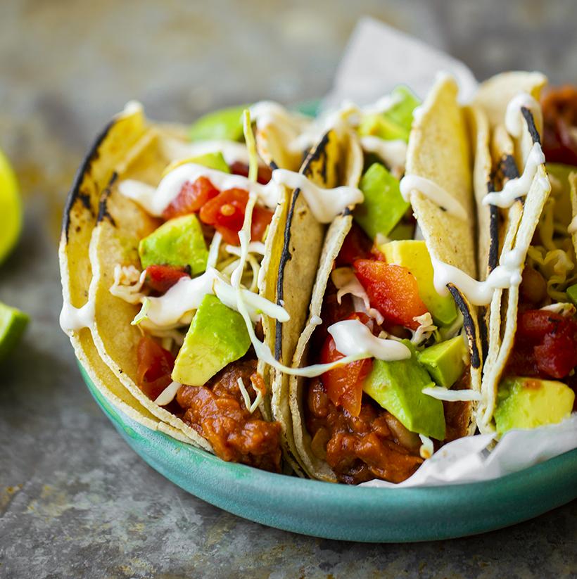 Summer Bean Tacos
