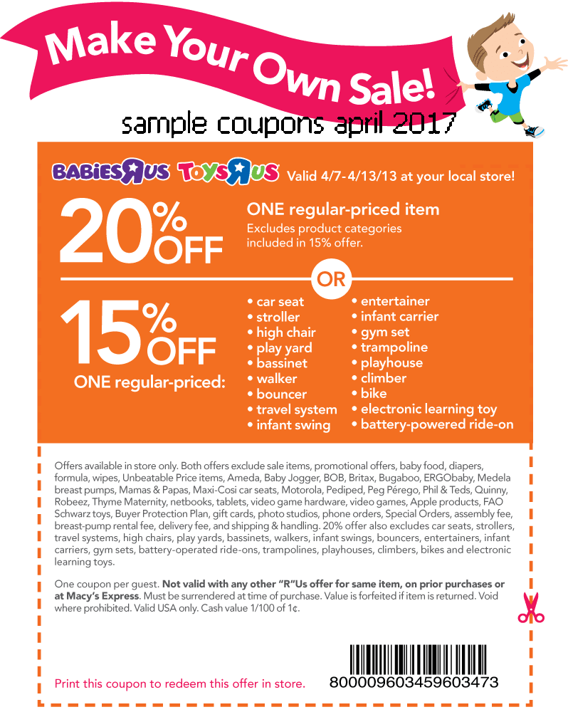 photograph about Toysrus Printable Coupons known as Printable coupon codes for toys r us : Fox information retail outlet
