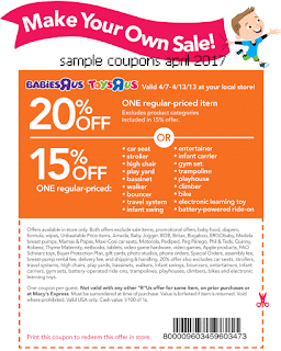 free Toys R Us coupons april 2017