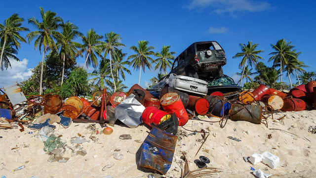 Waste management in Tuvalu is challenging