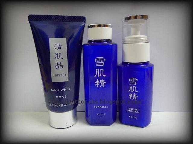 Just Norahs: Product Review: KOSÉ Trio ~Seikisho Mask White