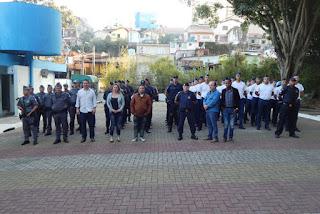 GCM e PM realizaram operação bloqueio e saturação no Monte Alegre em Taboão da Serra