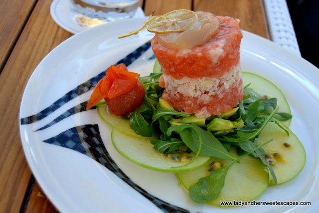 Smoked Salmon and Fresh Ocean Trout Tartare