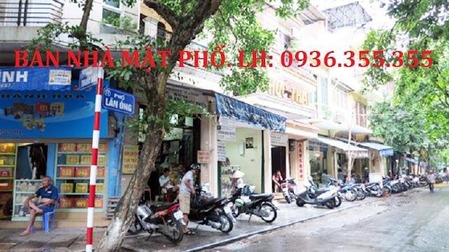 Bán nhà mặt phố Lãn Ông, Hà Nội