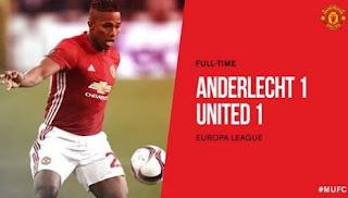 Video Gol Anderlecht vs Manchester United 1-1 Liga Europa