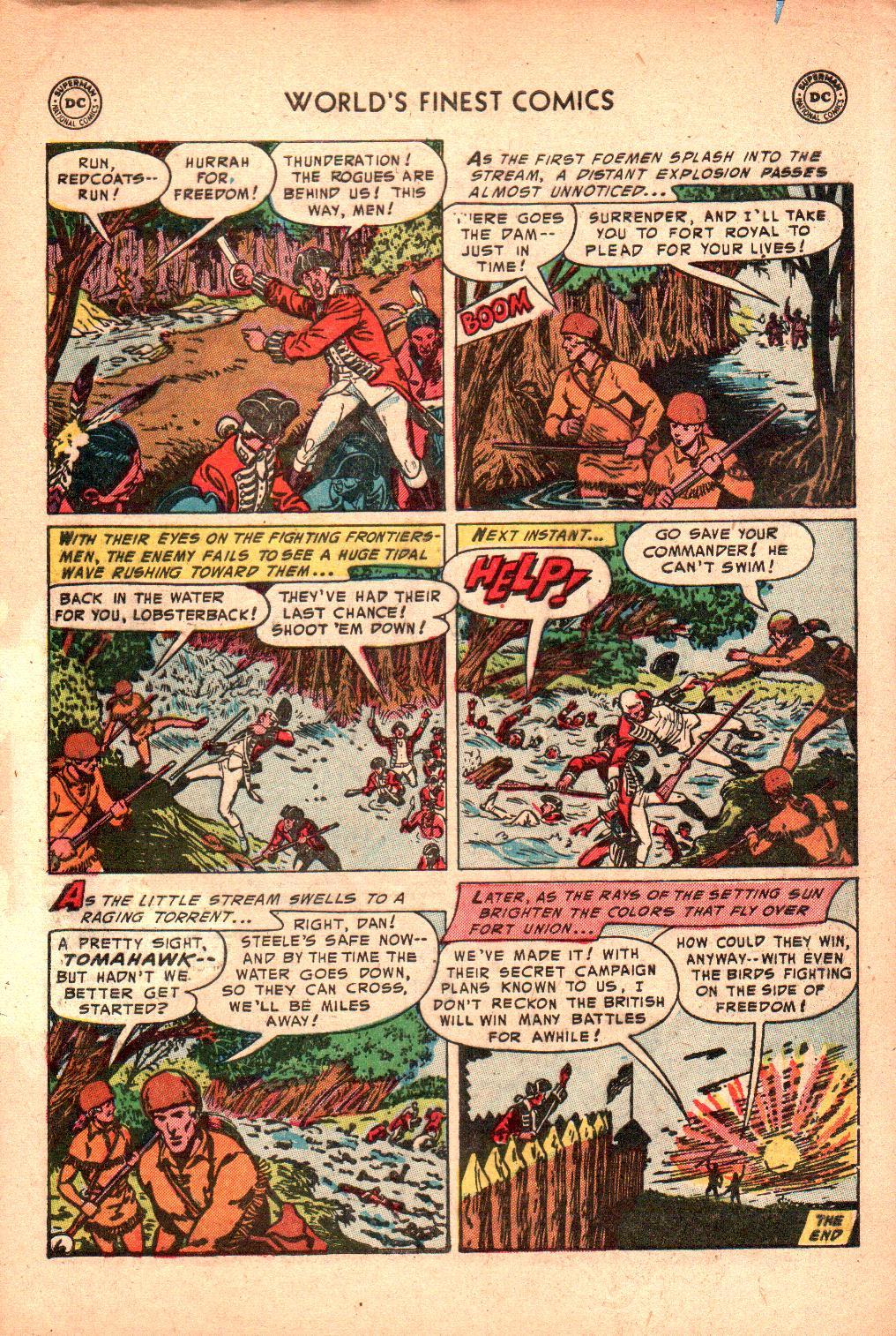 Read online World's Finest Comics comic -  Issue #71 - 35