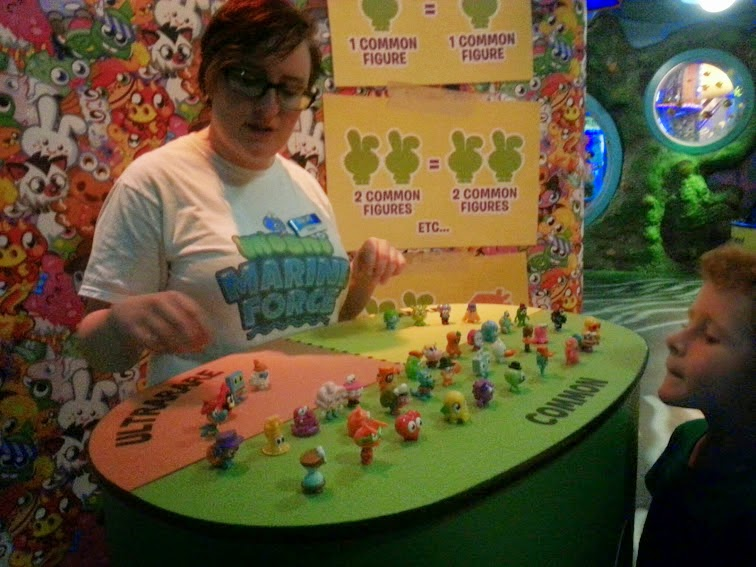 Moshi Monsters at Sea Life, Trafford Park, Manchester. Swap Zone