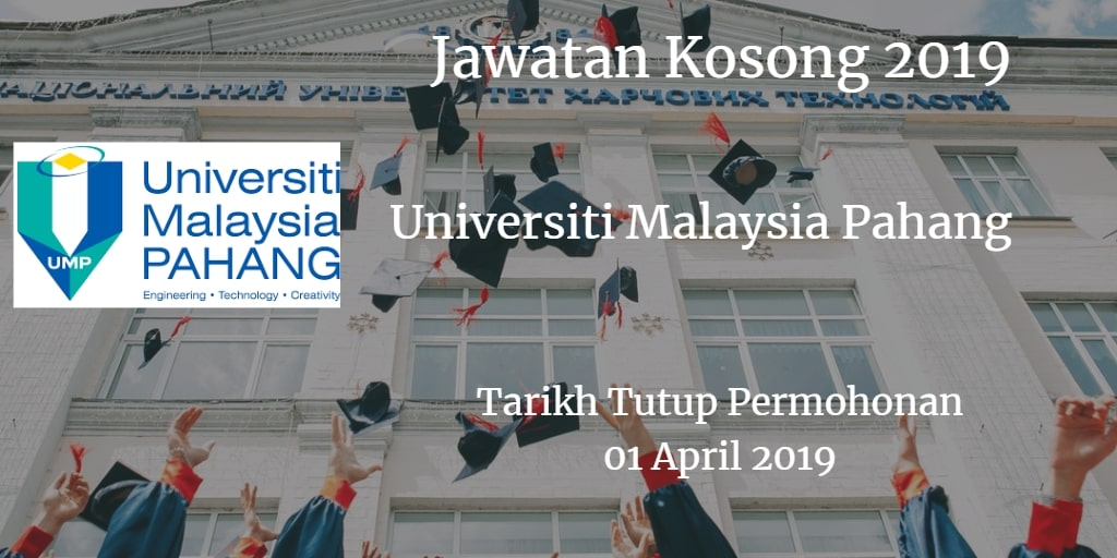 Jawatan Kosong UMP 01 April 2019