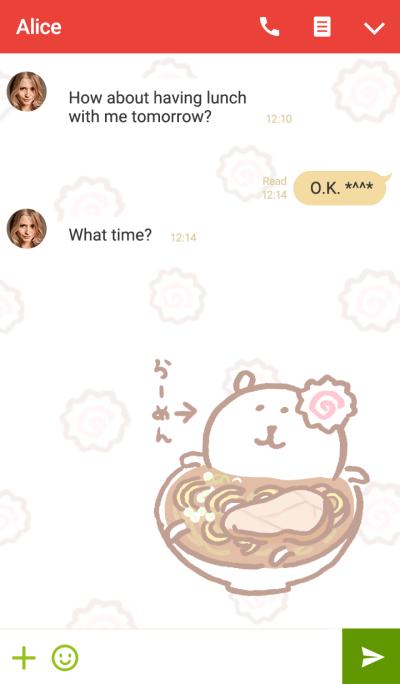 joke bear(Ramen)